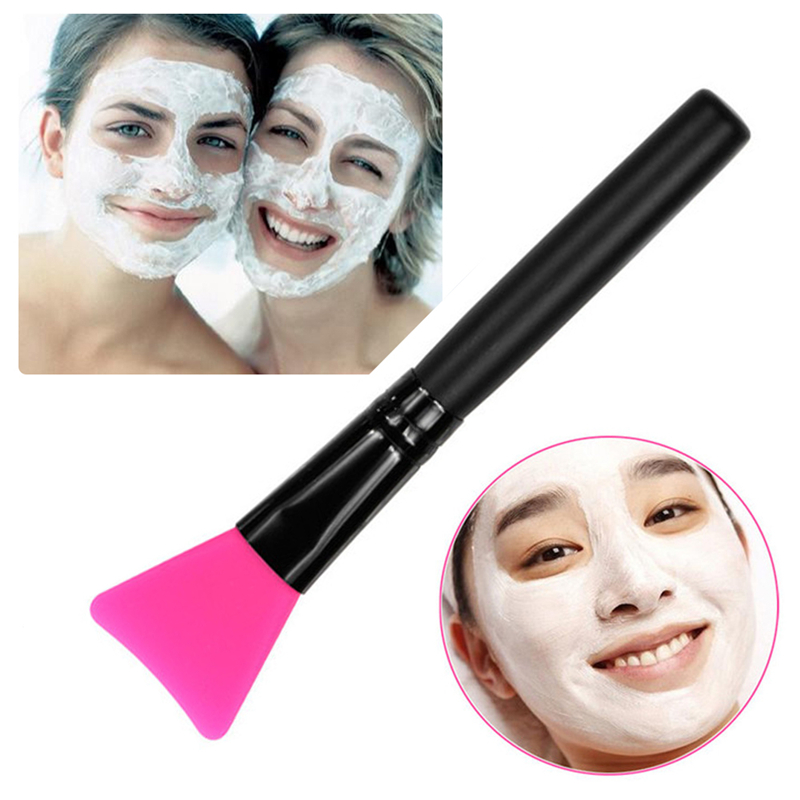 1pc Professional Silicone Facial Face Mask Mud Mixing Brush Skin Care Beauty Makeup Brushes Cosmetic Tools