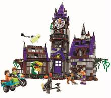 2018 New 10432 10431 Scooby Doo Mysterious Ghost House 860pcs Building Toys Compatible 75904 Blocks For Children Gift