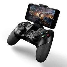 MASiKEN Analog fonksİyonu L2 /R2 Bluetooth kablosuz oyun denetleyicisi Gamepad Joystick ile Android iPhone için 2.4G alıcı