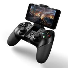 MASiKEN Analog function L2 /R2 Bluetooth Wireless Game Controller Gamepad Joystick for Android iPhone  with 2.4G Receiver