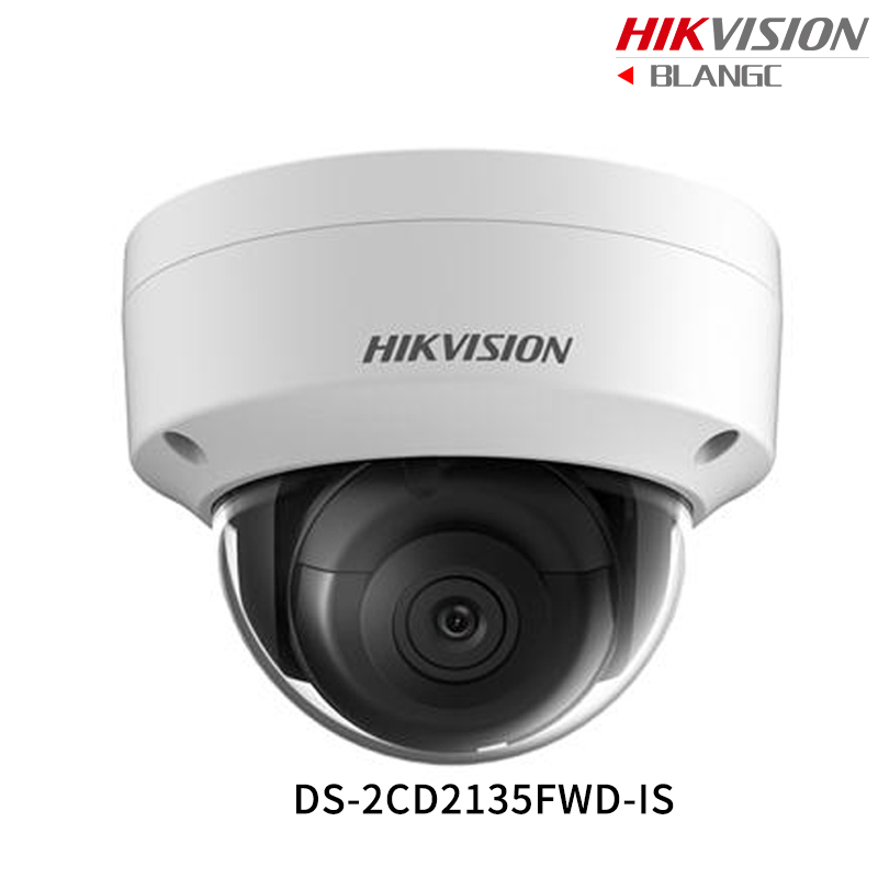 цены Hikvision English 3MP H.265 Ultra-Low Light IP Camera DS-2CD2135FWD-IS replace DS-2CD2132F-IS Dome Security Camera WDR POE Audio