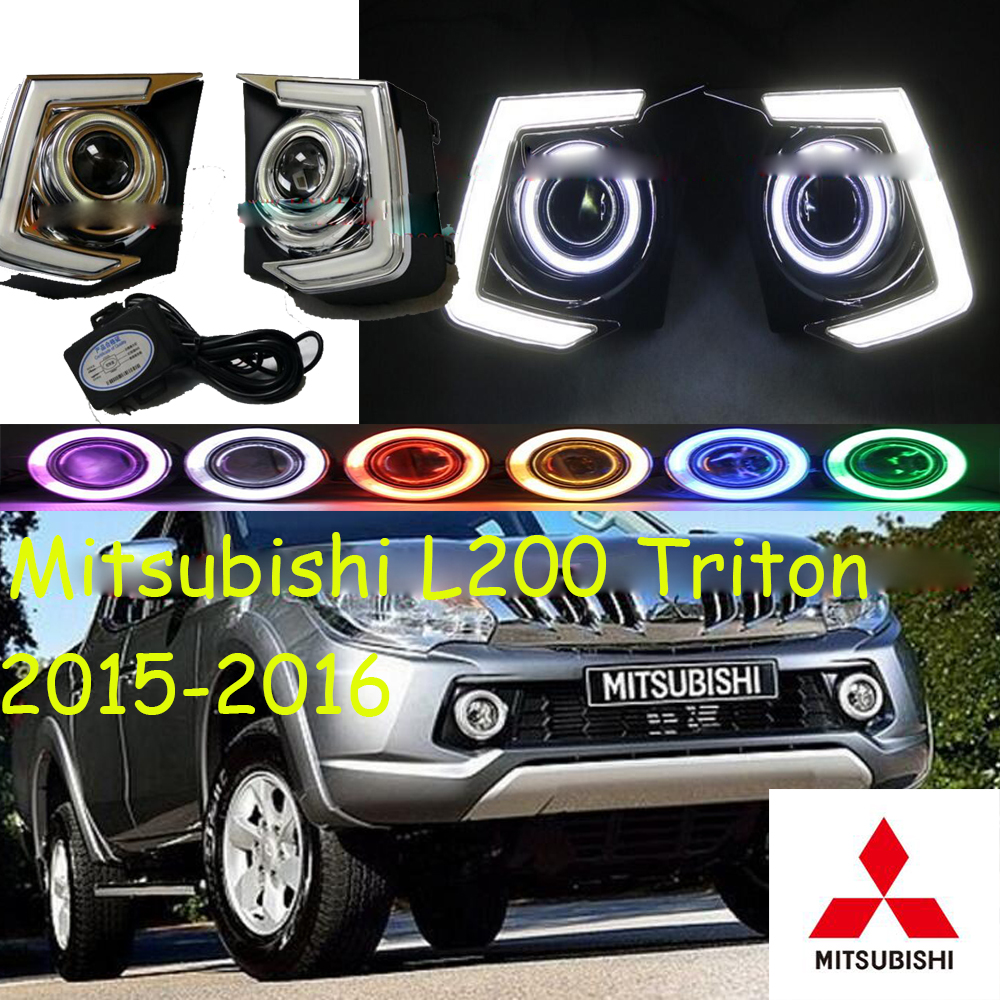 Mitsubish Triton daytime light;2015~2017, Free ship!LED,Triton fog light,Triton L200,asx,expo,galant,grandis,endeavor,eclipse triton эрика