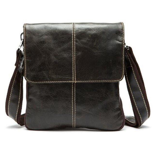 Can Custom NAME Fashion Men Bag Leather Crossbody Bag Shoulder Men  Messenger Bags Small Casual Designer 20eab32068856