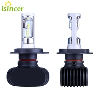 ISincer Car Led Headlight H7 H11 H13 9005 HB3 9006 HB4 H4 Bulbs Kits Dipped Beam