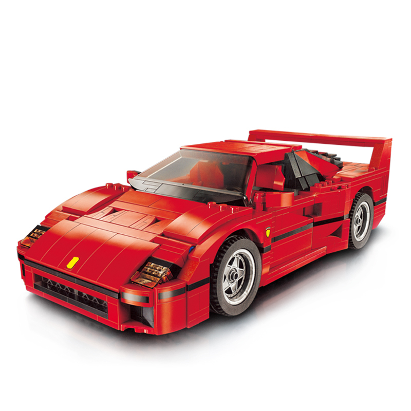 F40 Sports Car Creator Series Car-styling Building Blocks 1158pcs Technic bricks 10248 toys for children Compatible with Lepin lepin technic series lepin 21004 ferrarie f40 sports car model building blocks kits bricks toys compatible with 10248