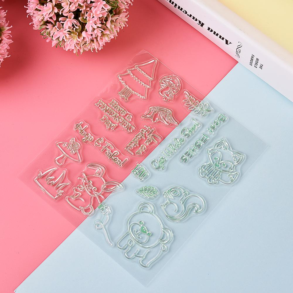 Forest animals stamp and dies Cutting Stencils for DIY Scrapbooking photo album Decorative Embossing DIY Paper Cards new(China)