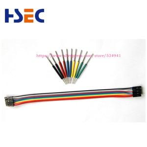 Image 2 - Micro IC pince 10 pièces/ensemble SOP/SOIC/TSSOP/TSOP/SSOP/MSOP/PLCC/QFP/TQFP/LQFP/SMD IC puce de test mini puces adaptateur prise
