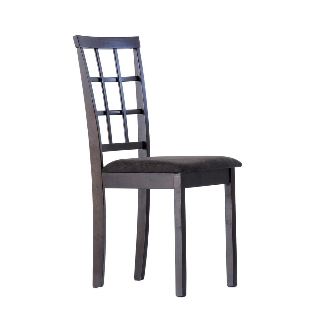 S3WengeFBbrown Barneo S-3 деревянный стул венге обеденный стул с мягким сидением стул кухонный стул интерьерный стул классический стул для столовой стул кухонная мебель классическая мебель по России