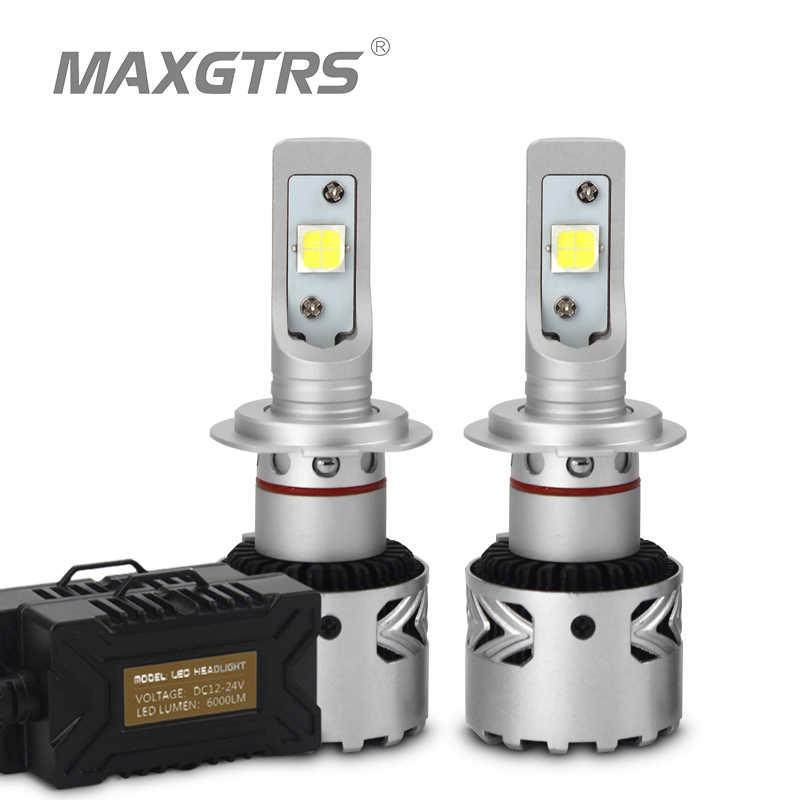 2x Latest With CREE Chip XHP70 LED H7 H8 H11 9012 9005 HB3 9006 HB4 D1C D1R D1S D3R D3S D2 D4 Car LED Headlight Square Bulbs