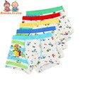 4 pçs/lote meninos cartton boxers boxer modal crianças underwear modal cuecas do bebê macio de alta qualidade