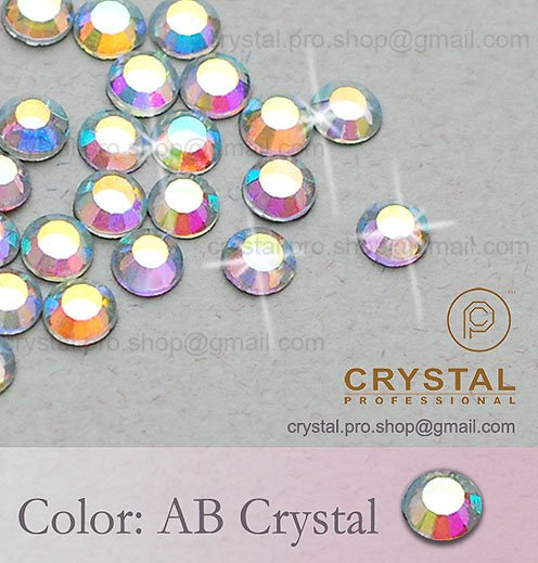 28800 pcs ss6 AB Crystal Clear 2mm wholesale bulk 6ss glass hot fix iron on Loose bead stone 200 gr. FLATBACK hotfix rhinestone