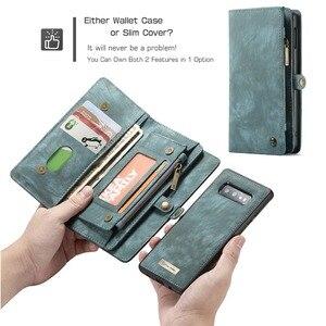 Image 4 - Étui portefeuille pour Samsung Galaxy S10 fermeture éclair magnétique étui de téléphone Folio housse à rabat pour Samsung A51 S20 Plus A50 A70 A80 S9 S8 Note 9