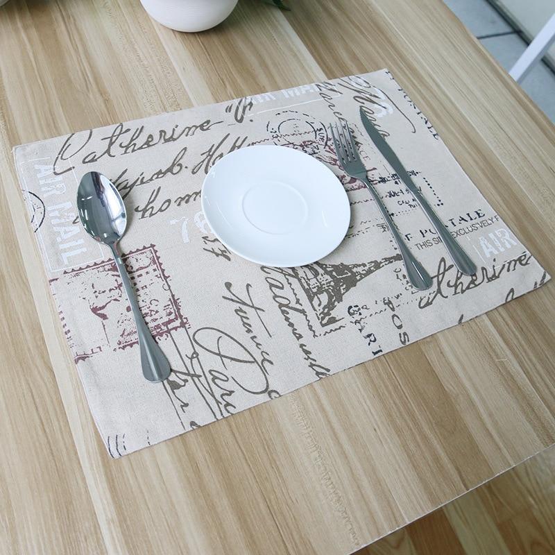 Linen Tablecloths Set Mat Mat Table Mat Factory Direct Foreign Trade On  Behalf Of A High