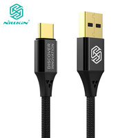 NILLKIN Type C Usb Cable 5A/40W Fast Nylon Type C Cable For Huawei OPPO For Samsung S10/S10 Plus/S10e/S9 For Xiaomi Mi 8 Mi 9 SE Mobile Phone Cables     -