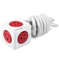 Akıllı Ev Allocacoc PowerCube Genişletilmiş USB Soket ABD Tak 5 Outlet Adaptörü ABD Adaptador Güç Şeridi-125 V 15A