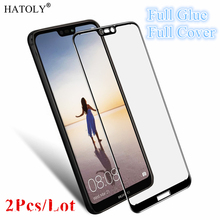 2Pcs Huawei P20 Lite Glass Tempered Glass for Huawei P20 Lite Film 9H Full Glue Full Cover Screen Protector for Huawei P20 Lite все цены