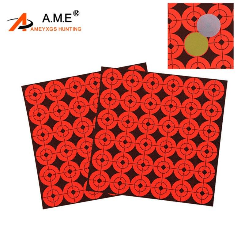40 cm F.I.T.A renforcé Archery Paper Target Visage-Lot de 50 avec gratuit PINS
