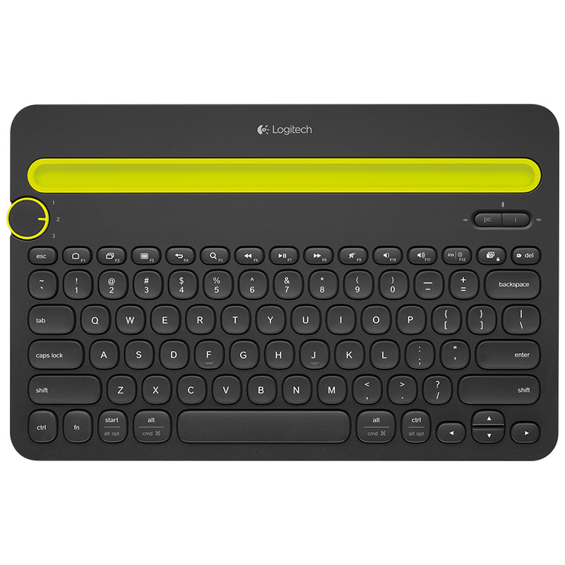 Logitech K480 Bluetooth Sans Fil de Jeu PC Portable teclado Gamer Original Multi-dispositif Mini Clavier klavye pour Téléphone Tablet