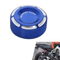 Motorcycle Rear Brake Master Cylinder Cap Fluid Reservoir Cap Cover For Yamaha Kawasaki NINJA ZX6R Z