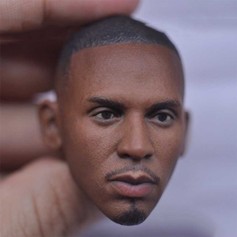 Mens Head Sculpt 1/6th basketball star Hardaway figure head model for 12 inches Male body Freeshipping 5 lil hardaway