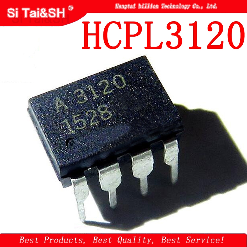 10pcs/lot A3120 HCPL3120 HCPL-3120 DIP-8 Optocoupler Optocoupler Patch