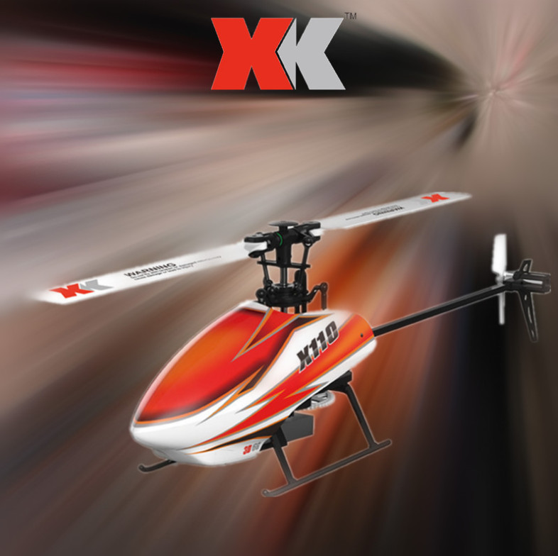 Original XK K110 Blash 6CH Brushless 3D6G System radio control RC Helicopter RTF remote control toy stunt aircraft xk k120 shuttle 6ch brushless 3d6g system rc helicopter rtf