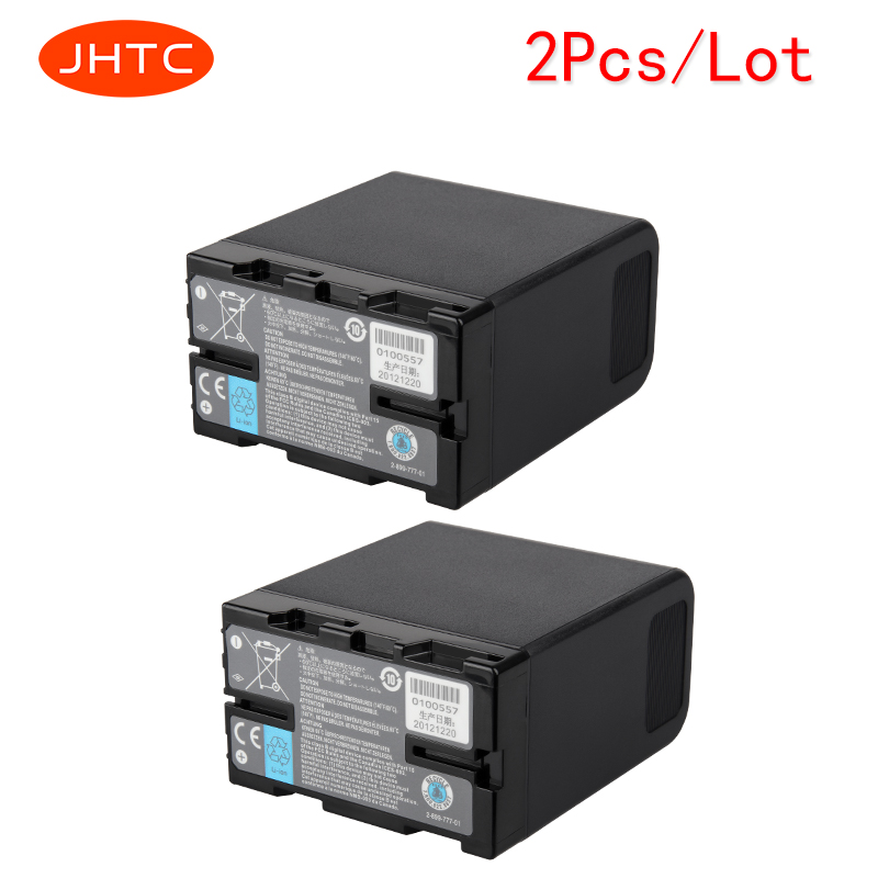 JHTC 2 pcs/lot 6600 mah Batterie pour Sony BP-U60 U30 U62 BP-U65 BP-U66 BP-U90 BP-U95 PMW-100 PMW-200 PMW-F3K PMW-EX1 PMW-EX1R