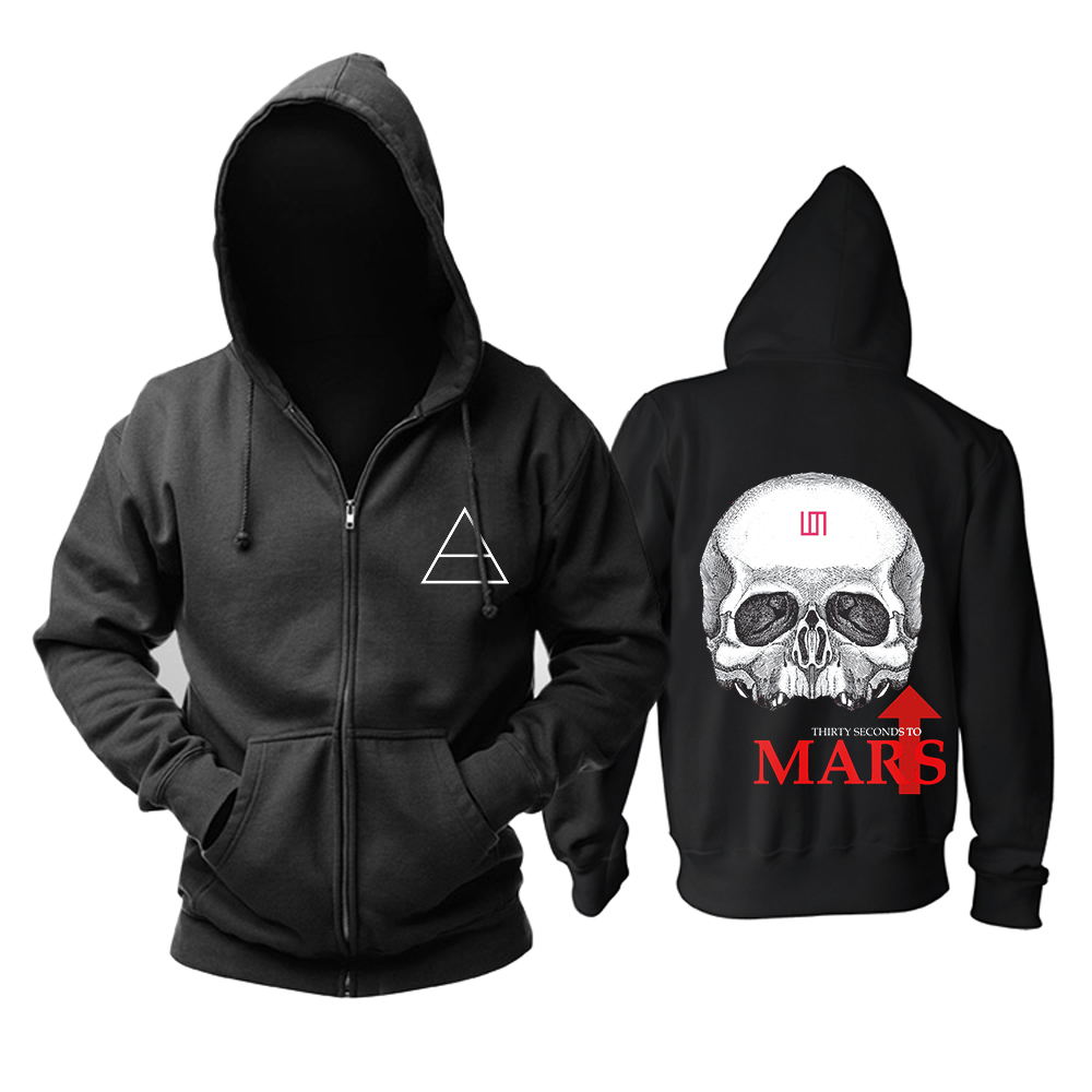 Bloodhoof 30 Seconds To Mars alternative rock metal Hurricane 2.0 / AOL Sessions Under Cover album fashion top hoodie Asian Size