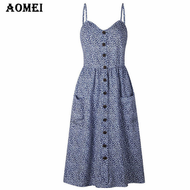 18af1b88ae Girl Cami Tube Dress Print Pineapple Off Shoulder Midi Pleated Floral  Spaghetti Strap Ladies Sexy Backless Summer Beach Wear