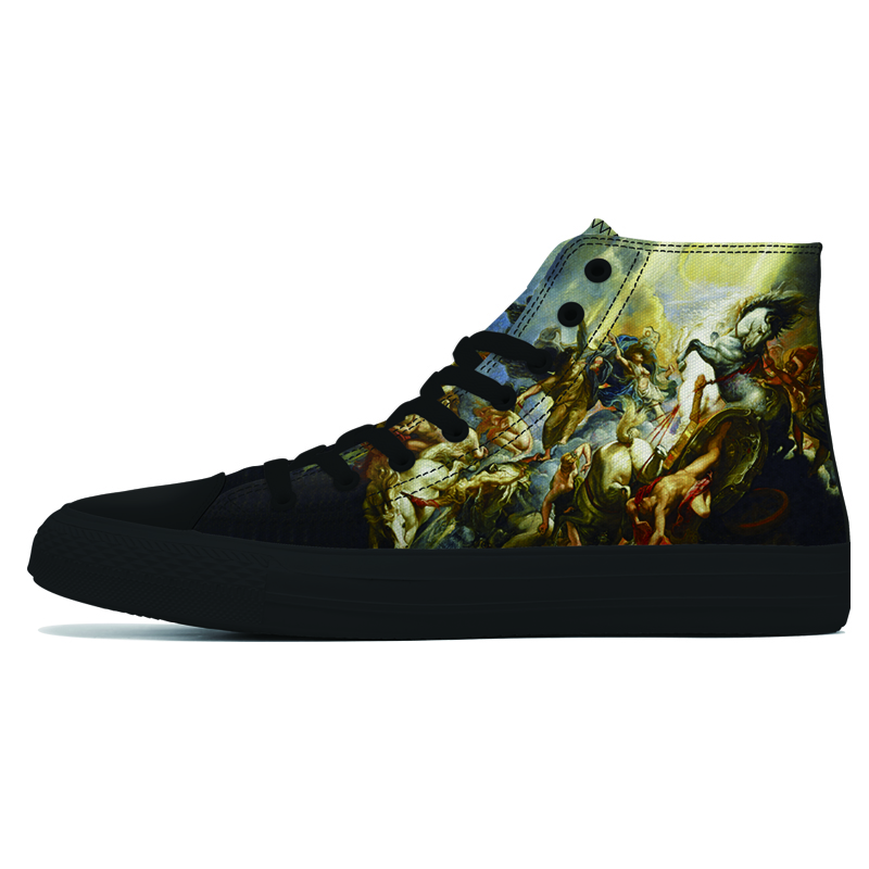 Summer Customize High Top Shoes Adults