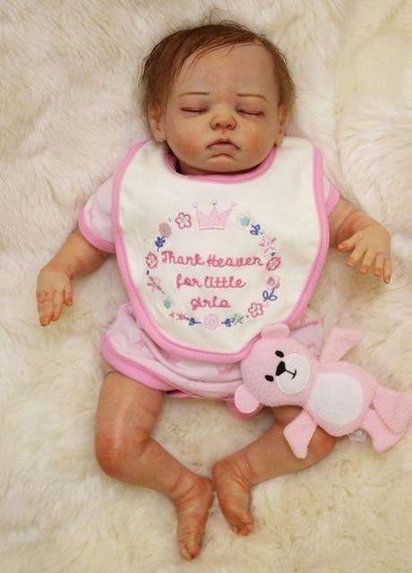 Boutique Doll Reborn 20 Handmade Reborn Babies Cloth Body Silicone