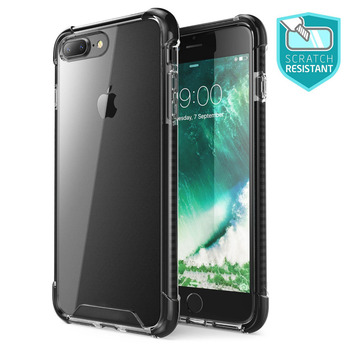 For Iphone 7 Plus Case,Luxury Slim Sleek ShockProof Scratch-Resistant Clear Transparent Cover for Iphone 7  7 Plus Phone Case Сумка