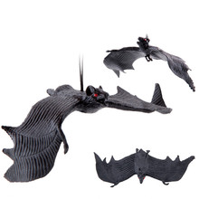 1/2/3/5/10PCs Halloween Simulation Animals Bats Trick Toy Trick Toy Gags Joke Bat Pendant Bar Scene Props Halloween Decorations