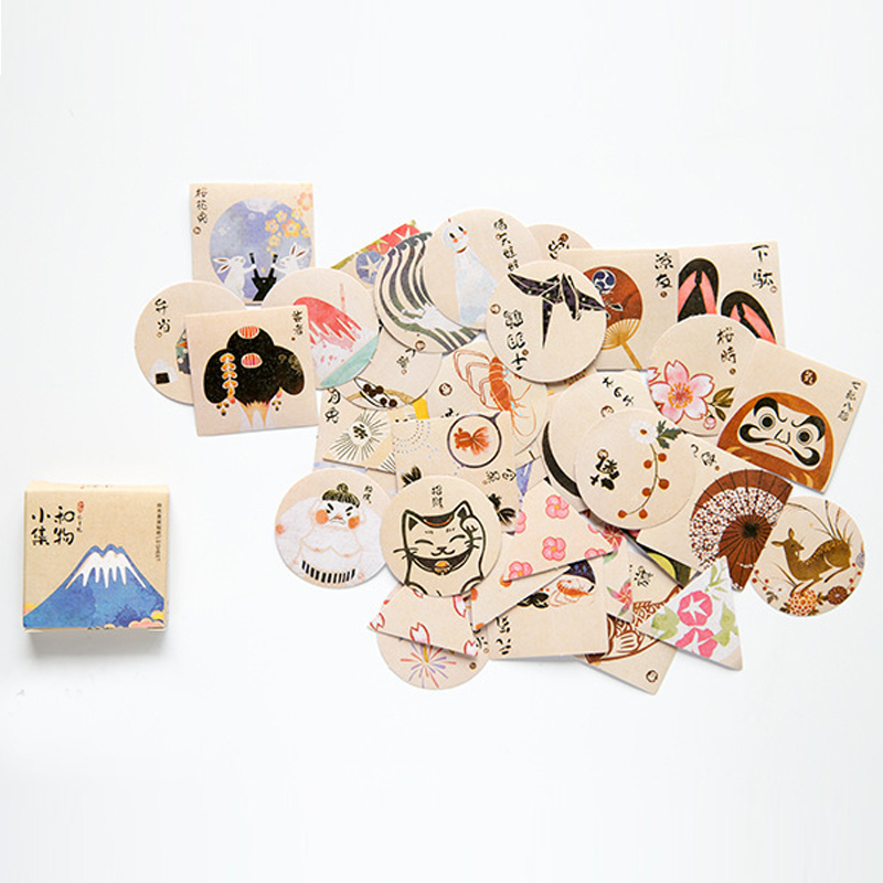 40pcs/pack Cute Yamato Item Memo Pad Stickers Posted It Kawaii Planner Scrapbooking  Stationery Sticker Escolar School Supplies