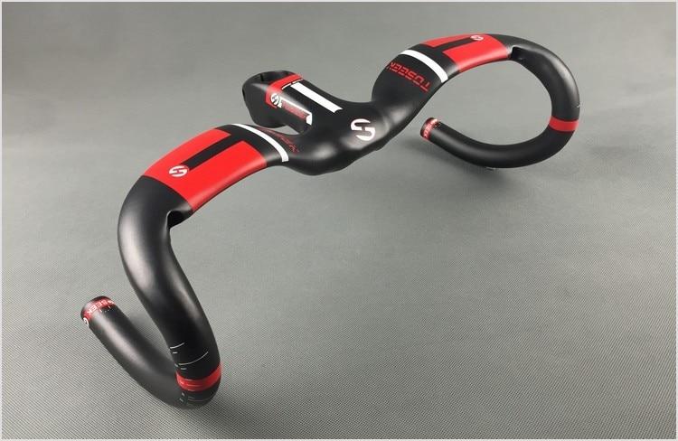 2017 Новый углерода руль дорога руль / Бент бар триатлон руль велосипеда аксессуары