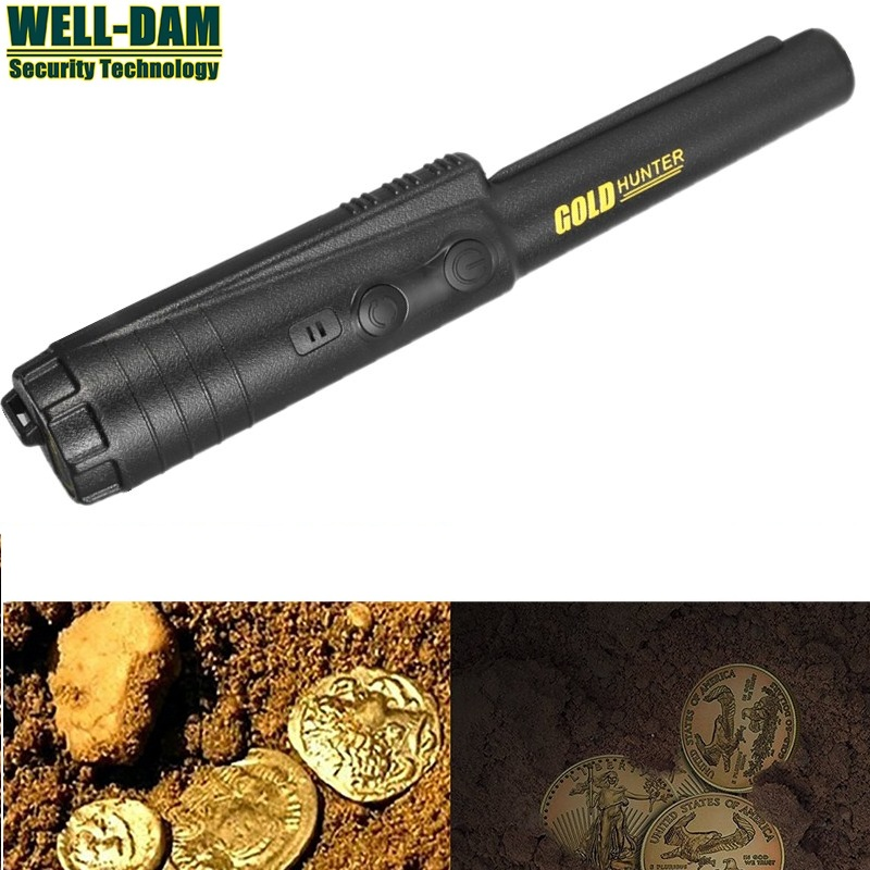 Free Shipping Gold Hunter ProPointer PinPointer Hand Held Metal Gold Detector Treasure Hunter PinPointer free shipping 2pcs waterproof gold detector gold hunter at propointer orange color