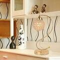 Dimmer Modern K9 Crystal Abajur E27 Luz de leitura de Cabeceira Sala Escritório sombra Decoração Luminaire FRTL/T39 ajustável