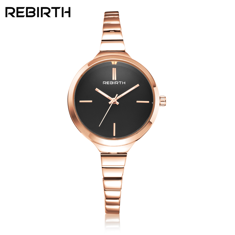 REBIRTH 2017 Luxury Women Watch Famous Brands Gold Fashion Design Bracelet Watches Ladies Women Wrist Watches Relogio Femininos new luxury women watch famous brand silver fashion design bracelet watches ladies women wrist watches relogio femininos