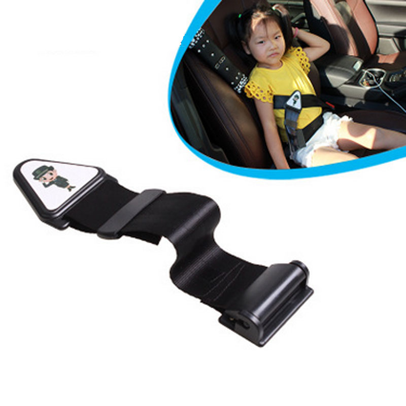 Car Child Seat Belt Protect Children Baby Pad Holder Safety Adjuster Regulator Protector Device Safe Fit Thickening Tape Buckle