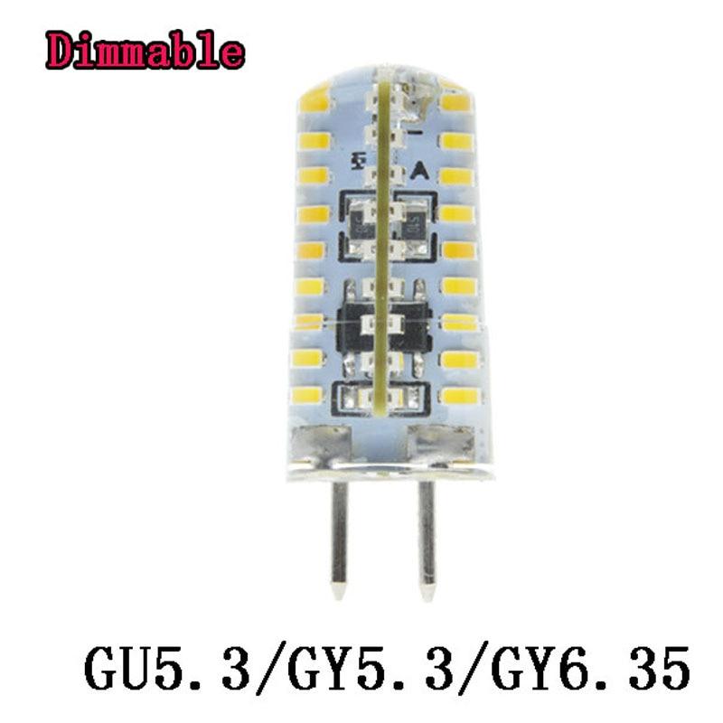 1X Lampada led GU5.3 GY5.3 GY6.35 Bulbs Light Dimmable Led Warm ...