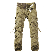 Army Camouflage Cargo Tactical Military Pants PLUS LARGE SIZE Brand Multi-pocket Overalls Trousers