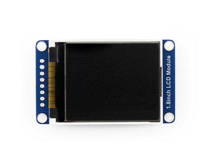 Waveshare 1.8inch LCD Module 128x160 Pixels Display SPI Interface ST7735S Driver LED Backlight With Embedded Controller 3.3V