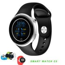 2016 Herzfrequenz Tracker Smartwatch C5 Wasserdichte Sportuhr Schrittzähler Smart Uhr für IOS Android Smartphone mit SIM SOS Uhr