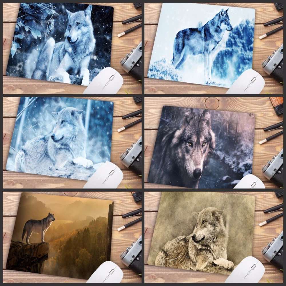 Mairuige Big Promotion My Favorite Snow Wolf High Speed New Mousepad Small Gaming Mouse Pad 18X22CM  Mouse Mat Keyboard Pad