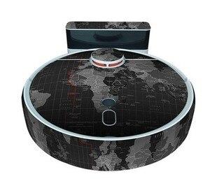 Image 5 - Autocollant mignon pour aspirateur Robot xiaomi 1S, Film de protection autocollant en papier, accessoires