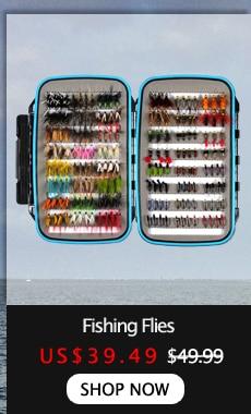 Royaume-Uni vendeur 100 pcs GROSSISTE en mer Pêche à La Mouche Crochets Tackle Kit avec boite 10 tailles