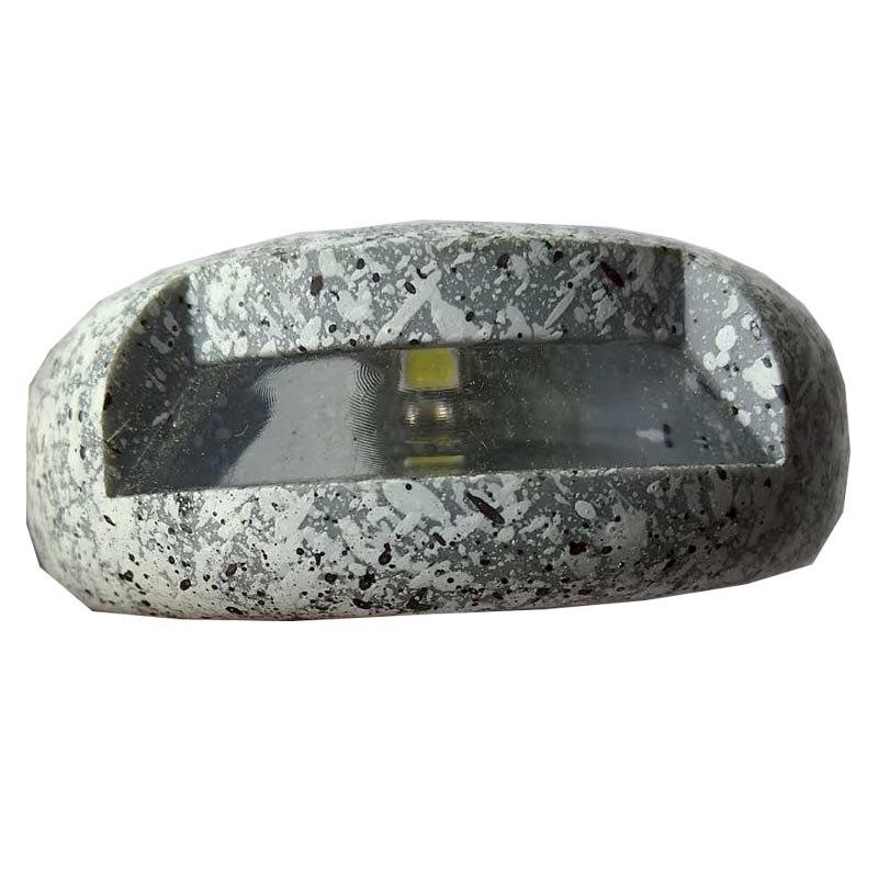 Lâmpadas Solares caminho/colophony falso pedra escadas luz Modelo Número : Ga-002