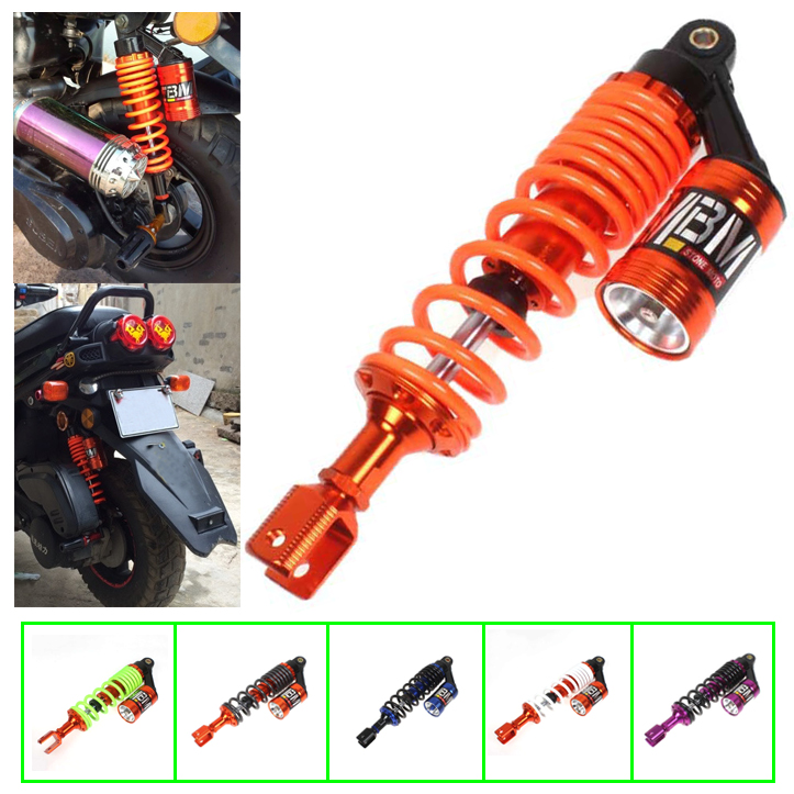 XFMT Rear Shocks Absorbers Suspension Compatible with Honda Rebel CMX 250 CA250 1986-2014 96 06