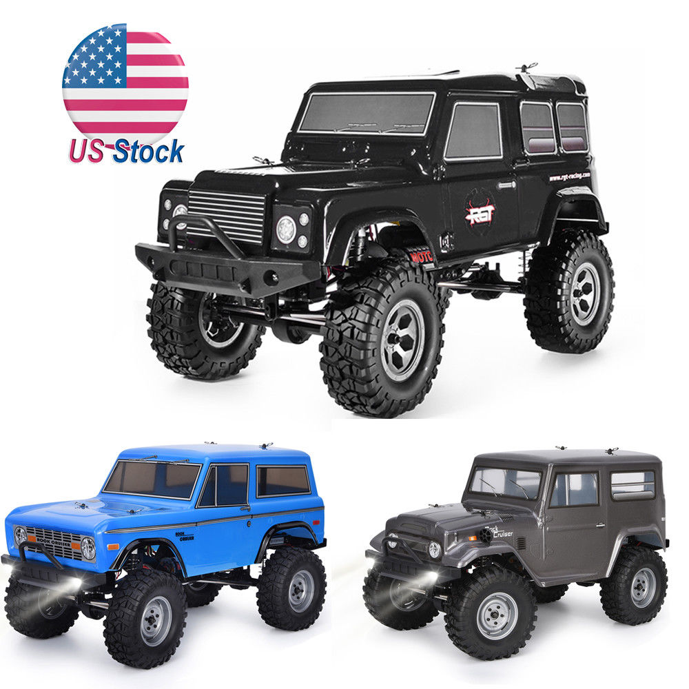 цены RGT Racing RC Car 1:10 4wd RC Crawler Off Road Truck RTR Rock Cruiser RC-4 136100PRO 4x4 Waterproof Hobby RC Toys for Kids