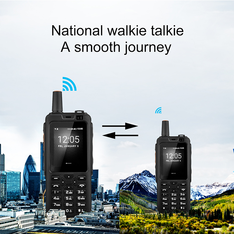 Image 5 - 4G Network walkie talkie Zello PTT cellphone Touch Screen 1GB RAM 8GB ROM Android 6.0 OS Dual Sim Card quad cord mobile phone-in Walkie Talkie from Cellphones & Telecommunications